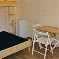 Odda camping room £97 - £130 for 2 nights depending on whether single or family bunk. No cooking facilities. £196 for 2 nights for cabins with cooking facilities.