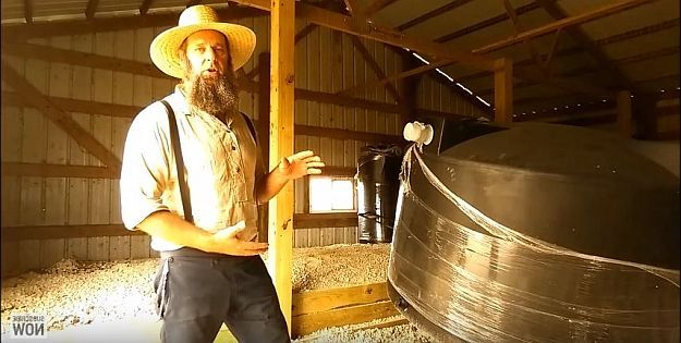 Raise the tank | Securing Water Off Grid | Homesteading Guide