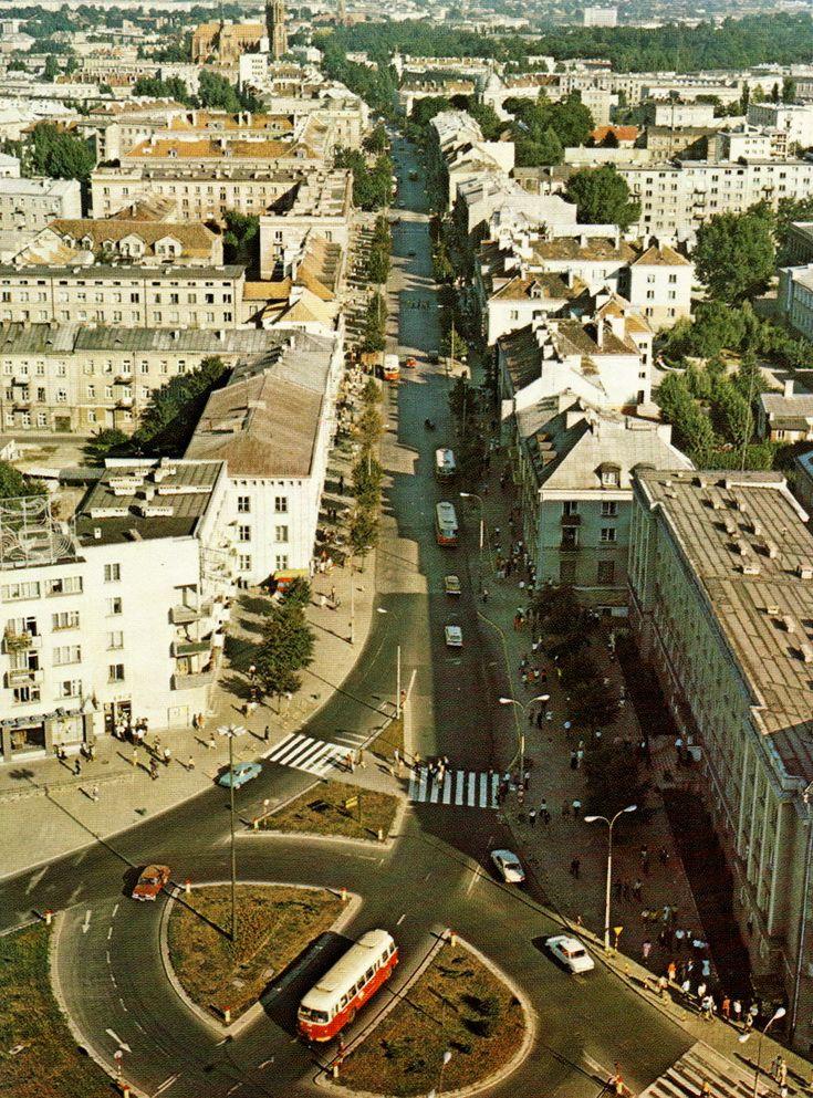 ul. Lipowa (Tykocka, Choroska, Lindenstrasse,Nowolipie,Piłsudskiego,Stalina,Hitlera), Białystok - 1980 rok, stare zdjęcia