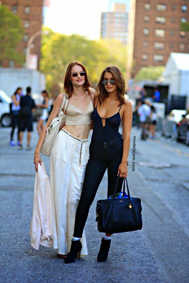 Svea Berlie And Bella Hadid New York September 2014