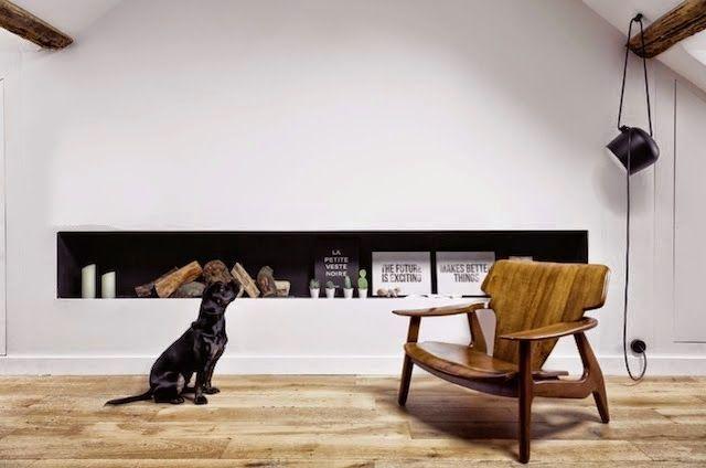 Paris / L' appartement de 40 m² d'un jeune couple de designers /   ATELIER RUE VERTE le blog   Bloglovin'