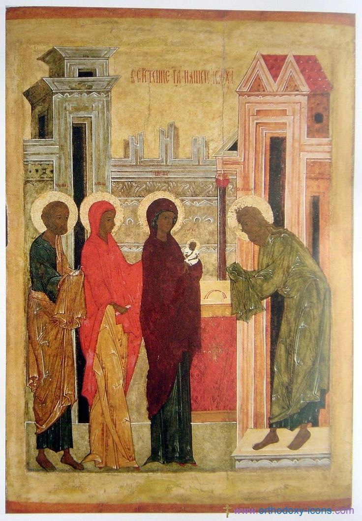 Russian icons from the Pskov. Part III