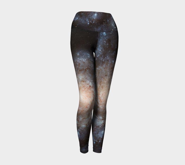 GALAXY   HIGH-QUALITY YOGA PANTS / YOGA LEGGINGS   BLACK, BLUE, IVORY   EDGY   WOMENS FASHION   FASHION 2016   SPACE   MILKY WAY