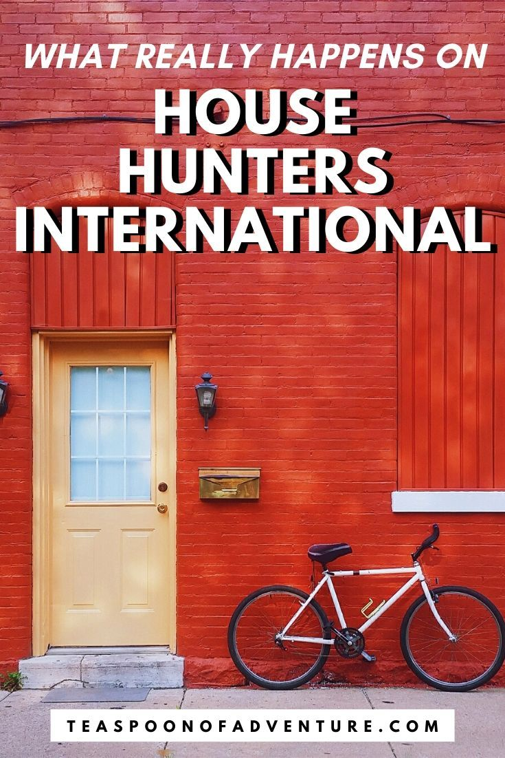 We Were On House Hunters International In 2020 House Hunters Travel Inspiration Travel