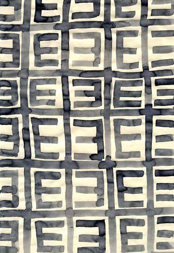 Leanne Shapton: Prints Patterns, Colours Prints Textures, Art Pattern, Pattern Paintings, Prints Textiles, Textiles Patterns Textures, Patterns Prints Palettes