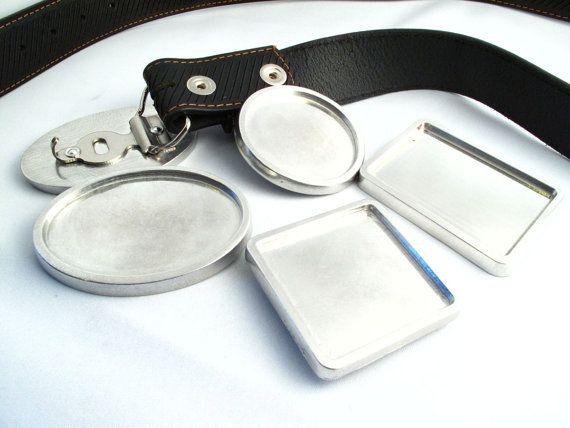 Blank Belt Buckles, Make Your Own Custom Belt Buckles SKU#SUP0001