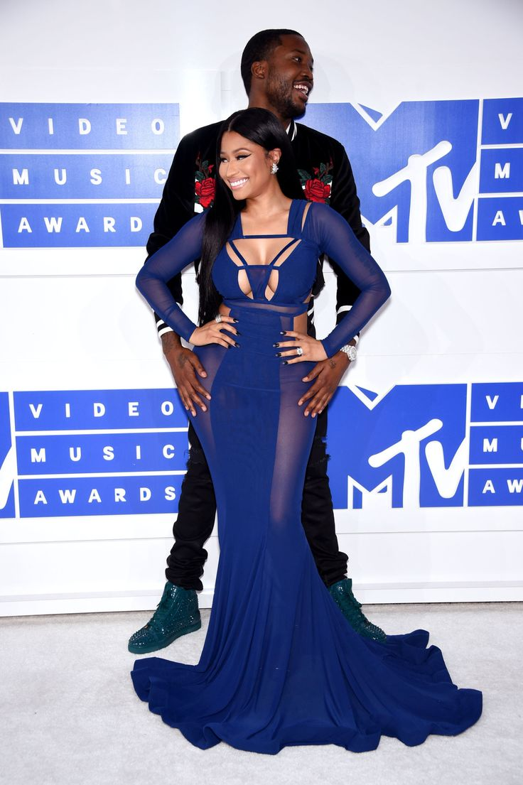 "celebritiesofcolor: "" Nicki Minaj and Meek Mill attend the 2016 MTV Video Music Awards on August 28, 2016 in New York City. """