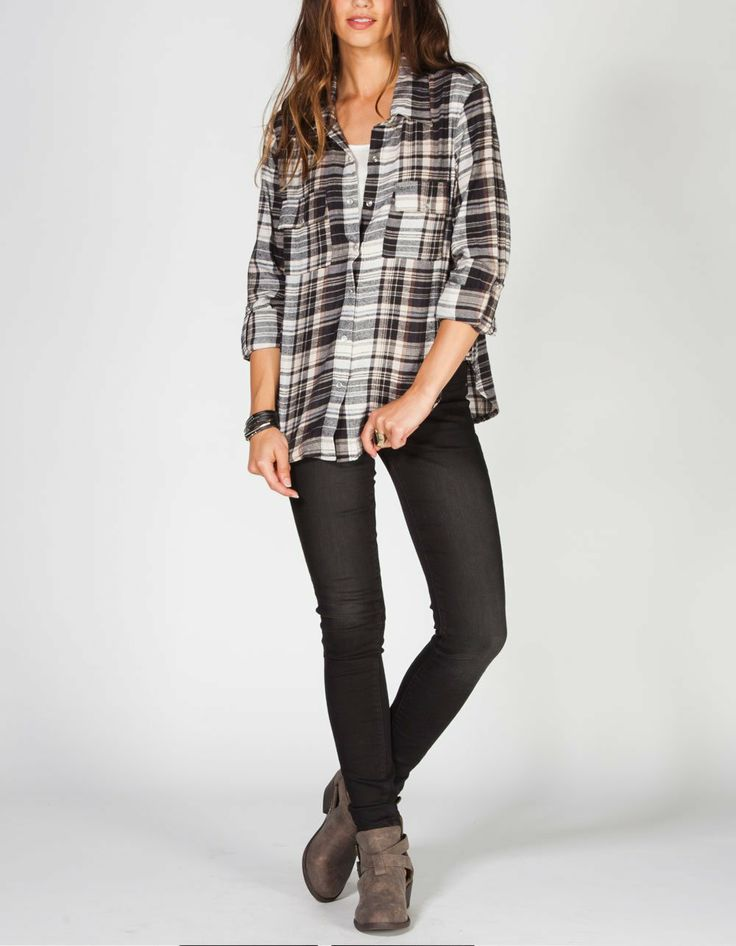 17 best images about flannel shirts on pinterest flannel for Womens christmas flannel shirt