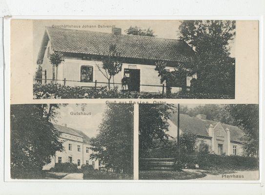 Basien, Geschäftshaus, Gutshaus, Pfarrhaus