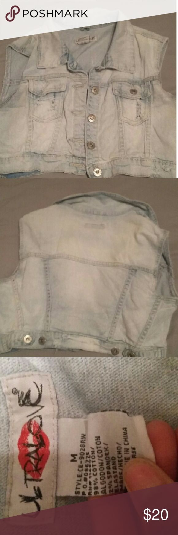 Jean jacket Short sleeve jean jacket Jackets & Coats Jean Jackets