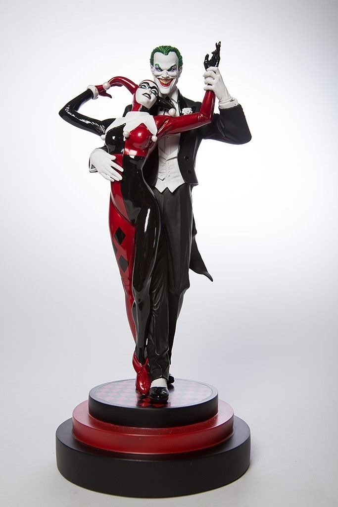 The Joker And Harley Quinn Tango In New Statue Ign Products I