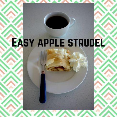 Easy apple strudel recipe