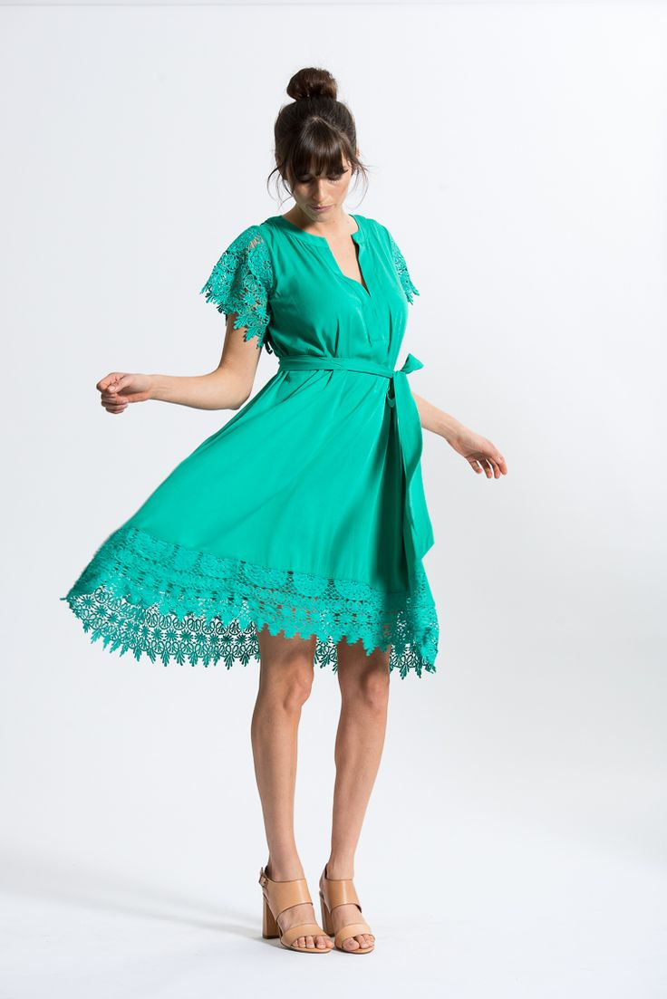 Dreamer Dress in Emerald