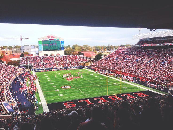 Ole Miss Stadium! Ole Miss vs. Arkansas
