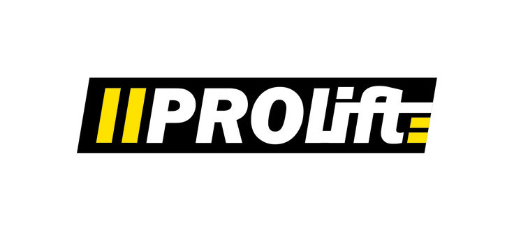 Mark for PROLIFT - a company providing and maintaining lifting equipment for heavy loads dedicated to marine industry involved in oil exploration and manufacturing coastal construction products.