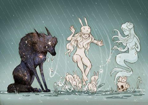 tormenta y paraguas ilustración - Buscar con Google