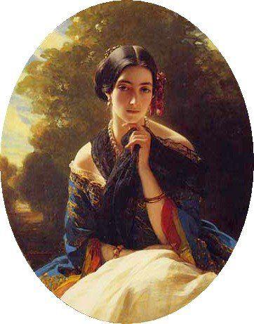 Leonilla Wittgenstein - Franz Xaver Winterhalter. 1849