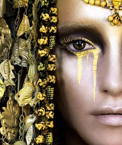The Breathtaking Beauty from Kirsty Mitchell's Wonderland: Gaia, The Birth of an End
