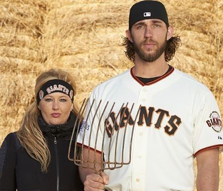 Ali Bumgarner SF Giants Madison Bumgarner's Wife