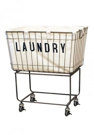 Laundry Cart, Rolling Laundry Cart, Laundry Cart with Liner