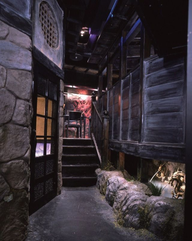 Ninja cafe in Japan. No, I'm not kidding. http://kotaku.com/tokyos-most-unusual-restaurants-offer-more-than-food-1147350054