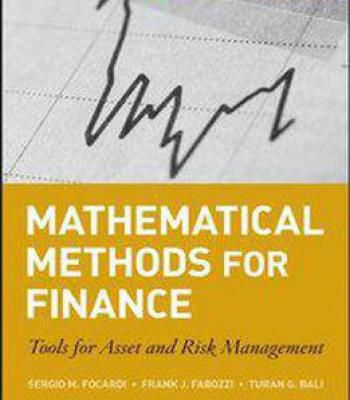 The 25 best risk management pdf ideas on pinterest financial mathematical methods for finance tools for asset and risk management pdf fandeluxe Choice Image