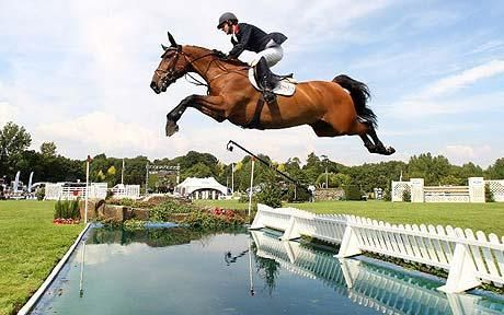 Lift off: Ben Maher is in the form of his life and currently ranked 15th in the worldPhoto: GETTY IMAGES