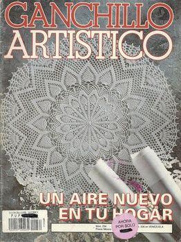FREE DIAGRAMS ~ Artistico Ganchillo №234 1996.