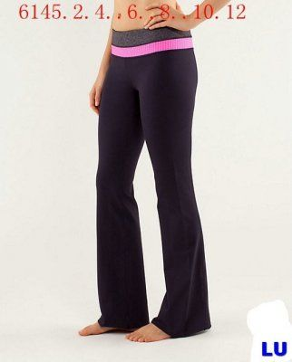 Lululemon Outlet Groove Pant Black & Pink : Lululemon Outlet Online, Lululemon outlet store online,100% quality guarantee,yoga cloting on sale,Lululemon Outlet sale with 70% discount!$45.77