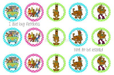 Free Scooby Doo bottlecap images