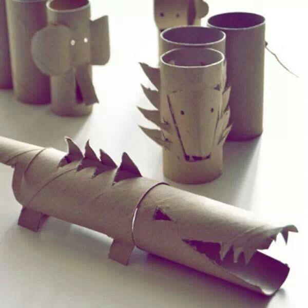31 best toilet roll craft images on pinterest toilet for Toilet paper tube art