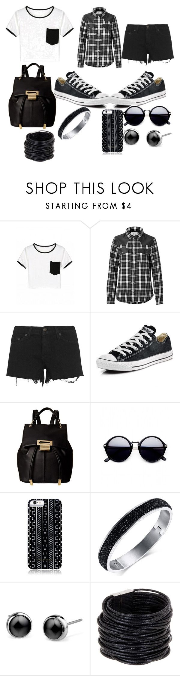 """#CaliforniaStyle"" by nevaeh316 ❤ liked on Polyvore featuring Current/Elliott, rag & bone, Converse, Ivanka Trump, Savannah Hayes and Saachi"