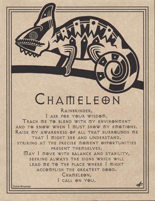 Chameleon Spirit Invocation