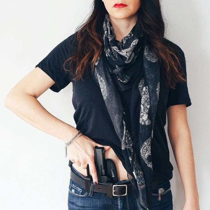 Concealed Carry Outfit | T-Shirt & Glock 43 — Style Me Tactical | Women's Gun, Concealed Carry Outfits, and Style Blog