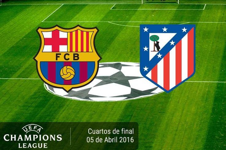 Barcelona vs Atlético de Madrid, Cuartos de Champions ¡En vivo por internet! - https://webadictos.com/2016/04/05/barcelona-vs-atletico-madrid-champions-2016/?utm_source=PN&utm_medium=Pinterest&utm_campaign=PN%2Bposts