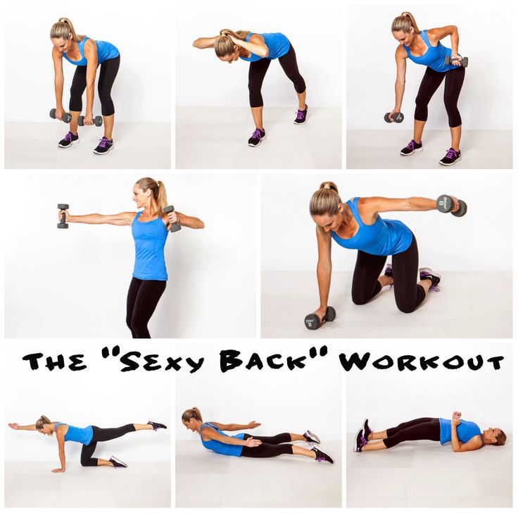 "The ""Sexy Back"" Workout: 8 moves to banish bra bulge, back pain, and bad posture"