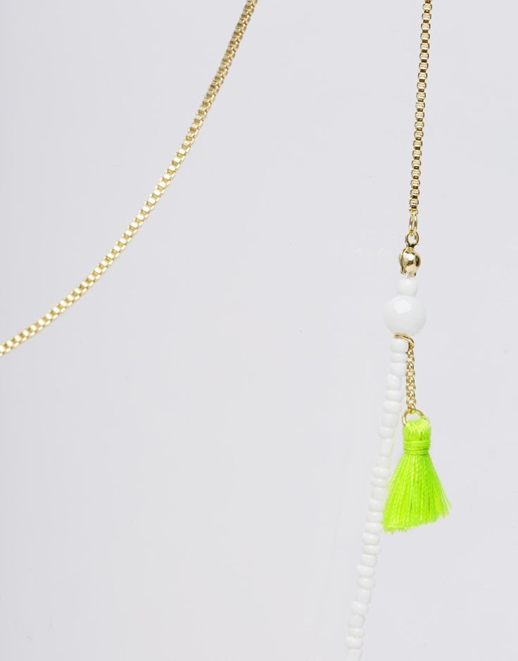 Ожерелье с кисточкой