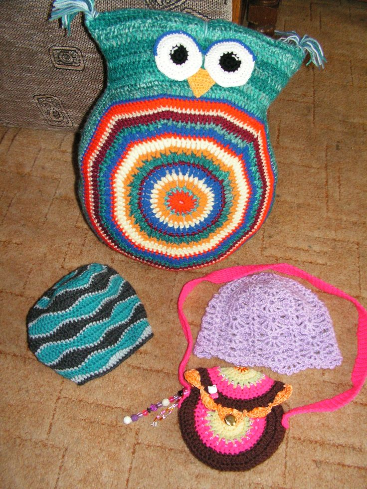 crochet pillow