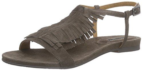 Belmondo 703351 02, Damen Offene Sandalen mit Keilabsatz, Beige (taupe), 38 EU - http://on-line-kaufen.de/belmondo/38-eu-belmondo-703351-02-damen-offene-sandalen-mit