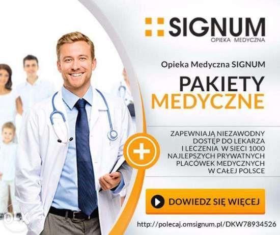Oferta dla firm (minimum 4 pakiety) Moją ofertę najlepiej przedstawi Państwu film https://www.youtube.com/watch?v=dzdANdOGGi8  5 pakietów usług medycznych ze zwiększającą się ilością świadczeń medy...