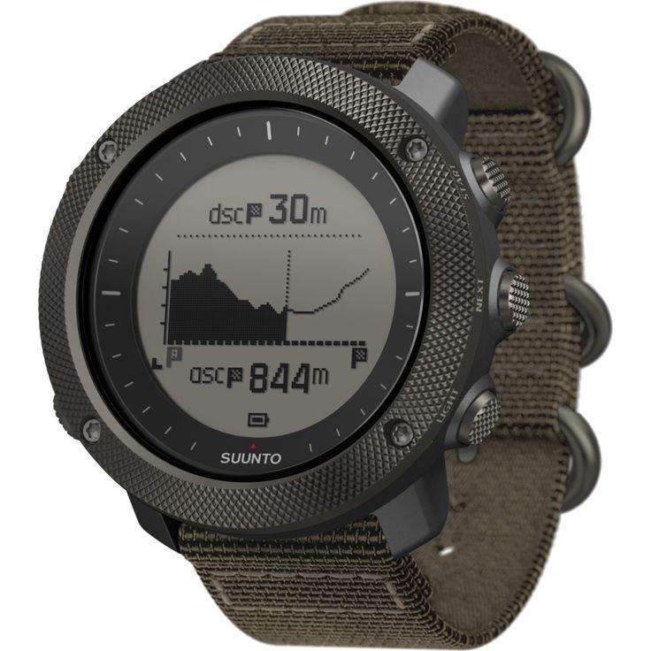 Suunto Traverse Alpha GPS Watch | Foliage