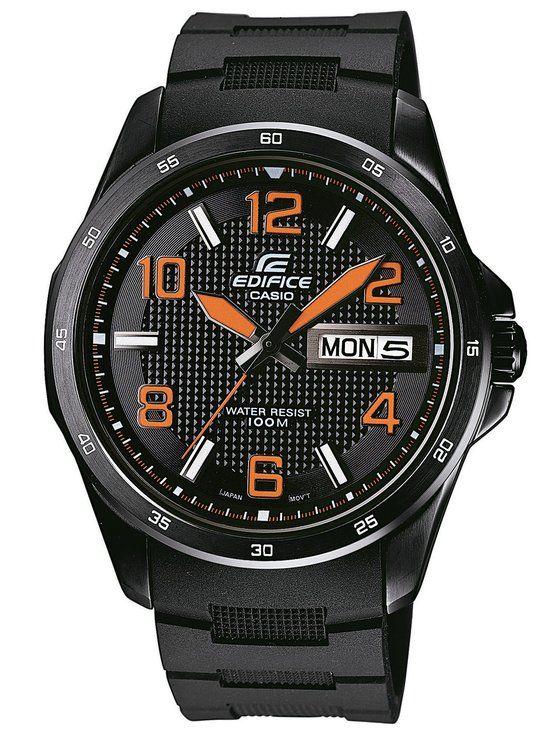 Casio Edifice EF-132PB-1A4VER horloge - 45 mm - Kunststof - Zwart