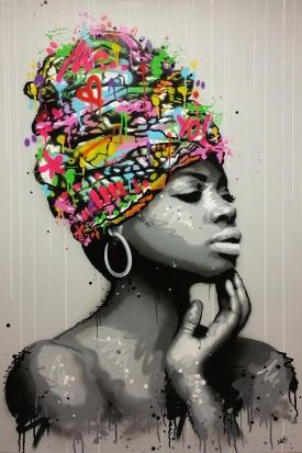Seaty, Kinshasa, Peinture
