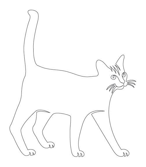 Contour Line Drawing Of A Cat : Best images about continuous line drawing on pinterest
