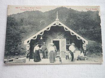 Postcard  Whanganui River Pipiriki