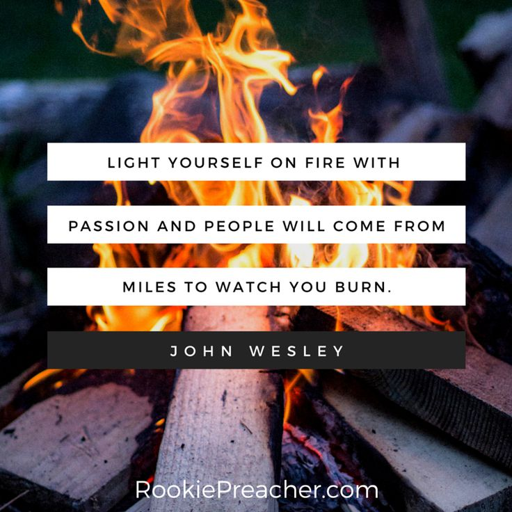 John Wesley on the necessity of passion in preaching