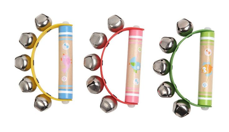 Wooden Musical toys - Machiko - a boutique for kids - Baby Musical Hand Rattles/Bells, $5.95 (http://www.machikobaby.com.au/products/baby-musical-hand-rattles-bells.html)