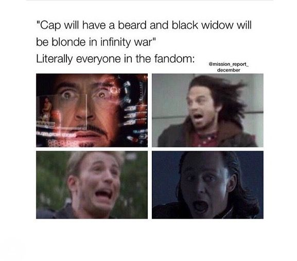 Yes for Cap no for Natasha. I love her red hair it gives her more of a threatening look. It just fits her