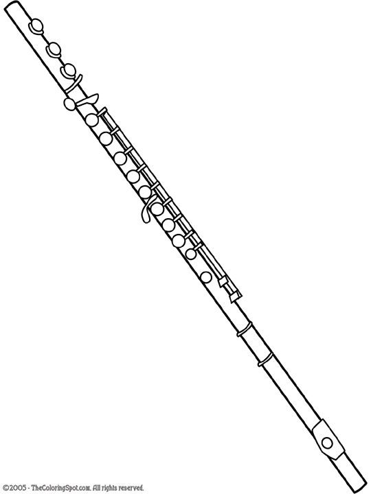 @Rachel Beltinck THIS is how you draw a flute