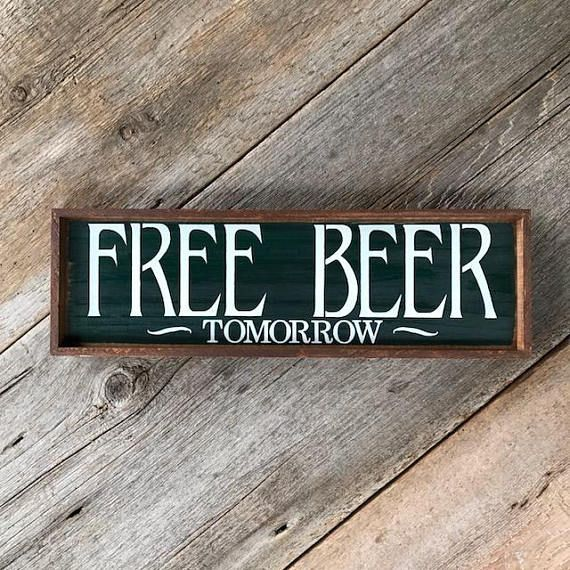 Bar Drinking Themed Sign Home Wall Art Funny Quote Plaque Gift Beer Decor